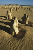 Gerry Ellis - Pinnacle formations in Nambung National Park, Western Australia