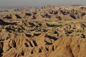 Gerry Ellis - Vista of sedimentary rock in the Black Hills, Badlands NP, South Dakota