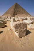 Gerry Ellis - Sandstone blocks of White Pyramid of King Snefru at Dakshur, Egypt