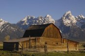 Pete Oxford - Cunningham Cabin in front of Grand Teton Range, Wyoming