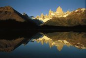 Colin Monteath - Mt Fitzroy reflected in lake at dawn, Los Glaciares NP, Patagonian Andes, Argentina