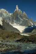 Colin Monteath - Cerro Torre seen from Agostini camp, Los Glaciares NP, Patagonian Andes