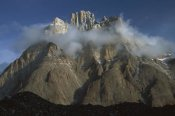 Colin Monteath - Cathedral Peaks at dawn above Baltoro Glacier, Karakoram, Pakistan