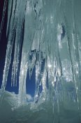 Colin Monteath - Crevasse icicles on the west ridge of Chongtar, Karakoram, China