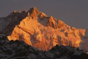 Colin Monteath - Dawn on Kangchenjunga, Talung face, Sikkim Himalaya, India