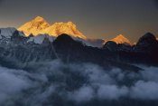 Colin Monteath - Mount Everest, Lhotse and Makalu in the evening, from Gokyo Ri, Khumbu, Nepal