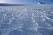 Ned Norton - Wind waves on snow, Garden of Eden, Southern Alps, New Zealand