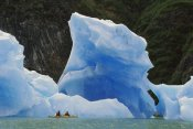 Shaun Barnett - Sea kayaking with icebergs, Tracy Arm, Alaska