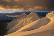 Grant Dixon - Sunset on Chinchey Massif, Cordillera Blanca, Peru