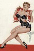 Peter Driben - Mid-Century Pin-Ups - Wink Magazine - Silk Stockings & High Heels