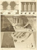 Giuseppe Vannini - Plate 56 for Elements of Civil Architecture, ca. 1818-1850