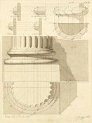 Giuseppe Vannini - Plate 53 for Elements of Civil Architecture, ca. 1818-1850