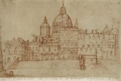 Federico Zuccaro - View of Saint Peter's, 1603