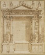 Baldassare Peruzzi - Design for an Altar, ca. 1527