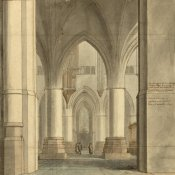 Pieter Jansz. Saenredam - The Choir and North Ambulatory of the Church of Saint Bavo, Haarlem, 1634
