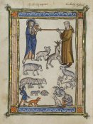 French 13th Century - Bestiary of Hugo de Fouilloy