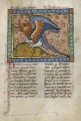 Franco-Flemish 13th Century - A Dragon