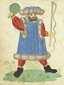 German 16th Century - Civic festival of the Nuremberg Schembartlauf - Blue Costume