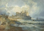 Joseph Mallord William Turner - Conway Castle, North Wales
