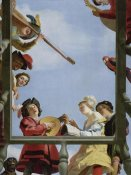Gerrit van Honthorst - Musical Group on a Balcony