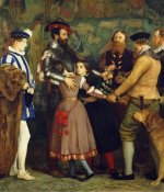 John Everett Millais - The Ransom