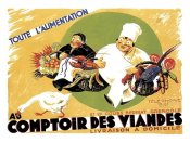 Advertisement - Cooks: Au Comptoir des Viandes