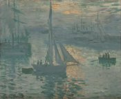 Claude Monet - Sunrise (Marine)