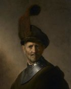 Rembrandt Harmensz van Rijn - An Old Man in Military Costume