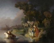 Workshop of Rembrandt Harmensz van Rijn - The Abduction of Europa