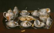 Jean-Etienne Liotard - Still Life: Tea Set