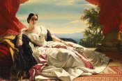Franz Xaver Winterhalter - Portrait of Leonilla, Princess of Sayn-Wittgenstein-Sayn
