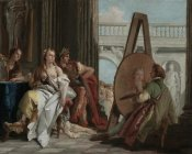 Giovanni Battista Tiepolo - Alexander the Great and Campaspe in the Studio of Apelles