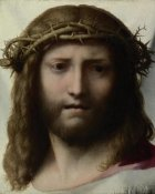 Correggio (Antonio Allegri) - Head of Christ