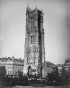 Gustave Le Gray - Paris, 1857-1859 - The Tour St. Jacques