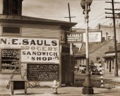 Walker Evans - Street Scene, New Orleans, Louisiana, 1935