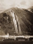 Carleton Watkins - The Devil's Slide, Utah, 1873-1874
