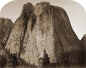 Carleton Watkins - Cathedral Rock - Yosemite, California, 1861