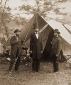 Alexander Gardner - President Lincoln on the Battlefield of Antietam, Maryland, October 2, 1862