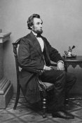 Mathew B. Brady - President Abraham Lincoln, Washington D.C., 1865