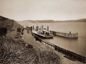 Carleton Watkins - The Ferryboat