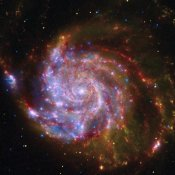 NASA - Spitzer-Hubble-Chandra Composite of M101