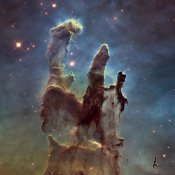 NASA - 2014 Hubble WFC3/UVIS  High Definition Image of M16 - Pillars of Creation