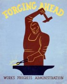 Harry Herzog - Forging ahead Works Progress Administration