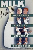 WPA - Milk - for health, good teeth, vitality, endurance, strong bones