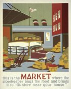 WPA - This is the market where the storekeeper buys the food