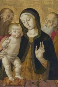 Bernardino Fungai - Madonna and Child with Two Hermit Saints