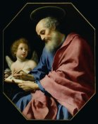 Carlo Dolci - St. Matthew Writing His Gospel
