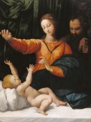 Unknown - The Holy Family (The Madonna del Velo; Madonna di Loreto)