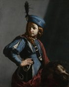 Guido Cagnacci - David with the Head of Goliath
