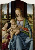 Studio of Lorenzo di Credi - Madonna and Child